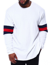 Men - Patrick Crew Neck L/S Tee (B&T)-2431974