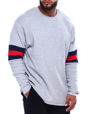 Men - Patrick Crew Neck L/S Tee (B&T)-2433334