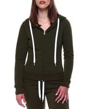 Outerwear - Fleece Zip Hoodie-2433397