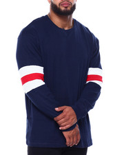 Men - Patrick Crew Neck L/S Tee (B&T)-2433327