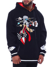 Men - Makobi Woolfy Fleece Hoodie (B&T)-2433295