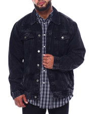 Men - Denim Rip + Repair Jacket (B&T)-2433355