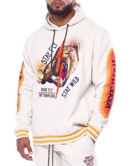 Born Fly - Wild Pullover Hoodie (B&T)