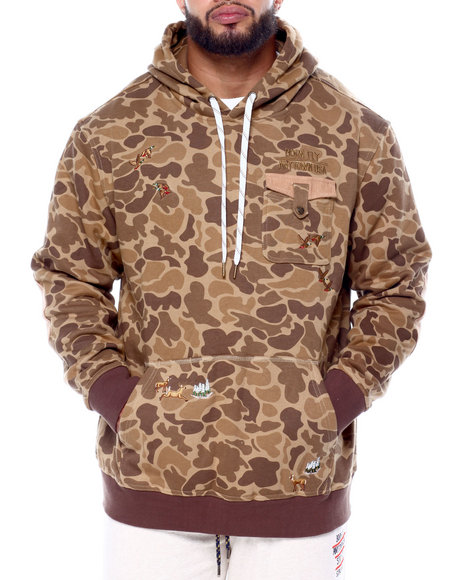 Born Fly - Trees Pullover Hoodie (B&T)
