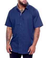 Big & Tall - S/S Solid Woven (B&T)-2434273