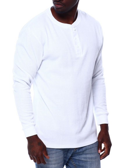 Buyers Picks - Two Button Henley
