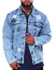 Big & Tall - Denim Rip + Repair Jacket (B&T)-2433370