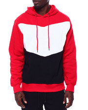 Buyers Picks - Colorblock Chevron hoodie-2434521