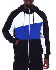 Buyers Picks - Full Zip Colorblock Hoodie-2434503