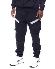 Buyers Picks - Reflective Tape Cargo Sweatpant-2434932