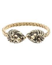 Jewelry & Watches - 18K Lion End Cuff Bracelet-2434826