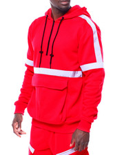 Men - Reflective Tape Hoody-2434975
