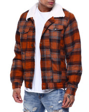 The Camper - Sherpa Plaid Jacket-2435405