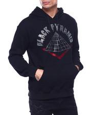 BLVCK - Stoned Drip Logo Hoody-2435555
