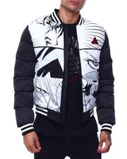 Heavy Coats - Anime Puff Varsity Jacket-2435497