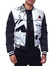 Black Pyramid - Anime Puff Varsity Jacket-2435497