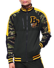 Outerwear - Lion Camo Track Jacket-2435507
