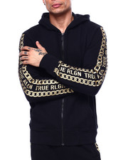 Mens-Winter - Hoodie with Chain Detail-2435378
