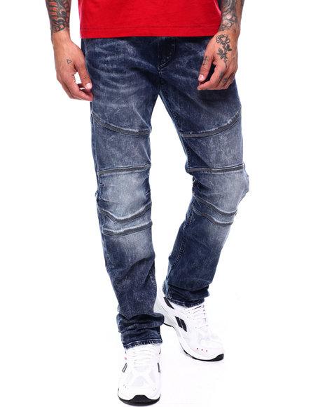 True Religion - GENO MOTO NO FLAP Moto Jean