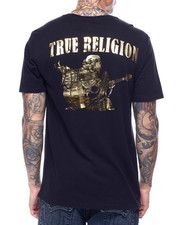 True Religion - GOLD HORSESHOE Tee-2435240