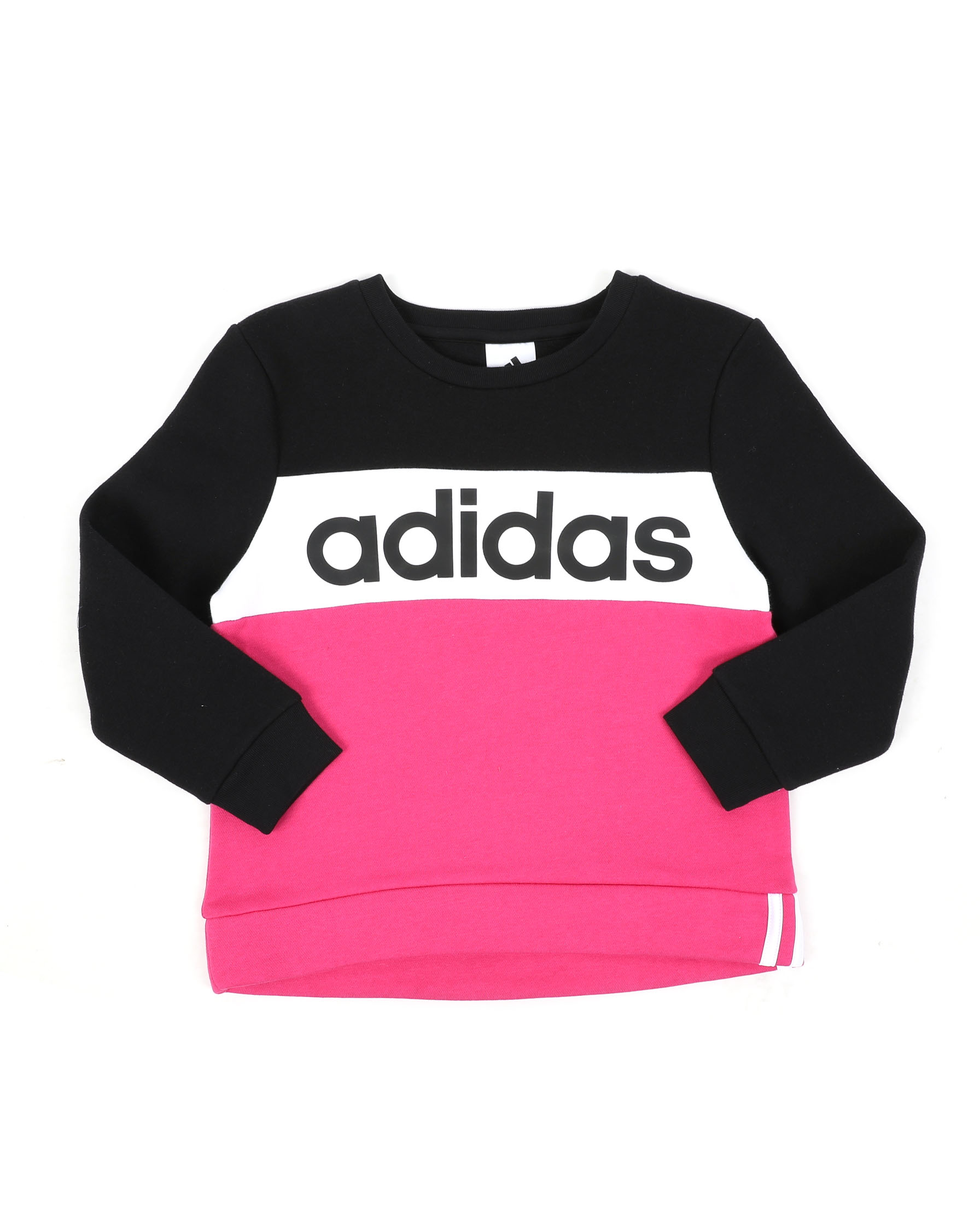 Buy Pieced Crew Pullover (7 16) Girls Sweatshirts & Sweaters