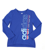Girls - Long Sleeve Side Vent Tee (4-6X)-2435578