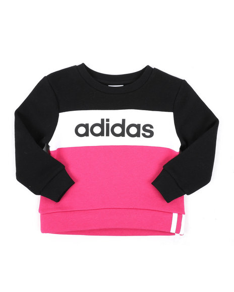 Adidas - Pieced Crew Pullover (2T-4T)