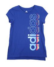 Girls - Side Vent Tee (7-16)-2435589