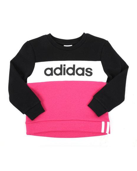 Adidas - Pieced Crew Pullover (4-6X)
