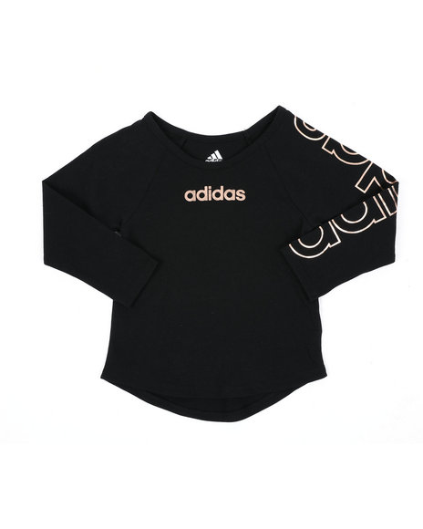 Adidas - Long Sleeve Raglan Tee (2T-4T)