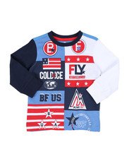 Born Fly - Long Sleeve 180 GSM Tee (2T-4T)-2435629