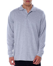 Shirts - Long Sleeve Polo-2436112