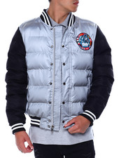 Outerwear - Space Aero Down Varsity Jacket-2435972