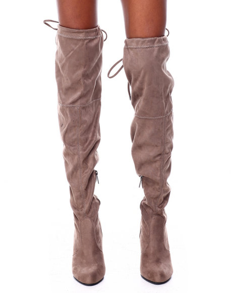 Fashion Lab - Over The Knee Boots