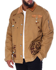 Born Fly - Field Sherpa Lined Denim Jacket (B&T)-2435191