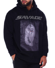 Hudson NYC - Stoned Savage Panther Hoody (B&T)-2436118