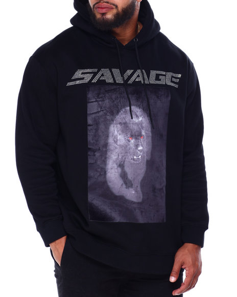 Hudson NYC - Stoned Savage Panther Hoody (B&T)