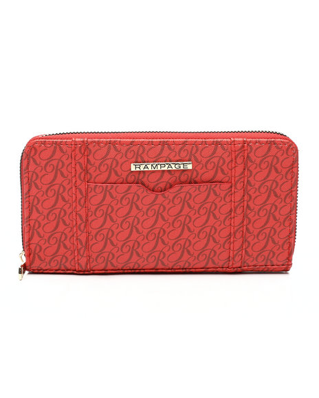 Rampage - Boxed Single Zip Around Wallet