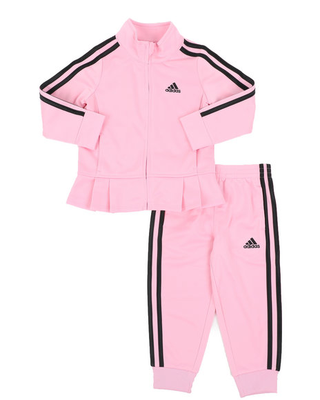 Adidas - Pleated Tricot Set (2T-4T)