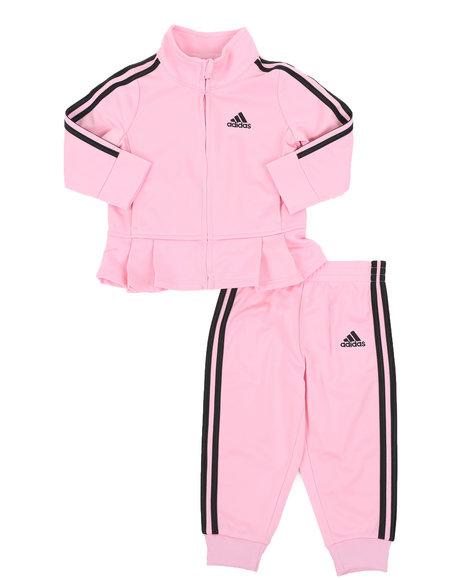Adidas - Pleated Tricot Set (3-24Mo)