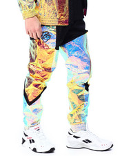 Pink Dolphin - IRIDESCENT WAVES BREAKER PANT-2436857
