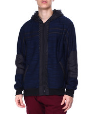 Outerwear - ENGINE SHERPA LINED HOODIE-2437108
