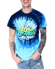 Shirts - Blessed Tie Dye Tee-2436721