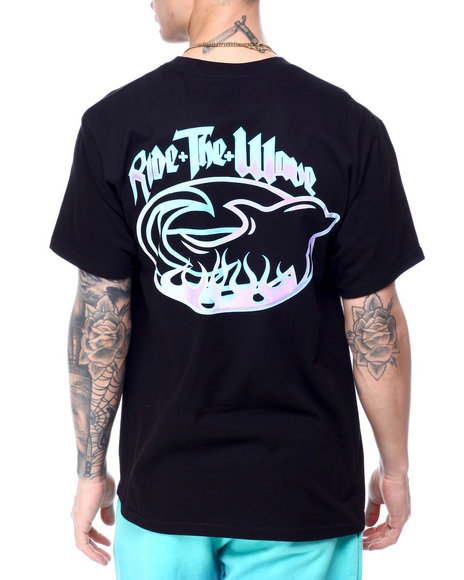 Pink Dolphin - RIDE THE WAVE TEE