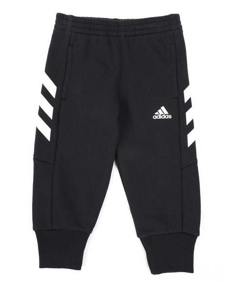 Adidas - Cotton Fleece Joggers (2T-4T)