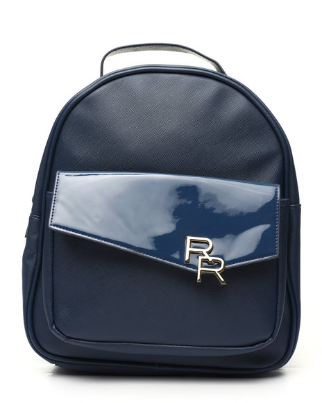 Rampage - Saffiano Patent Backpack