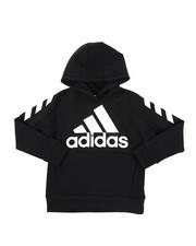 Adidas - Block Pullover Hoodie (8-20)-2436965