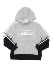 Adidas - Colorblock Pullover Hoodie (8-20)-2437378