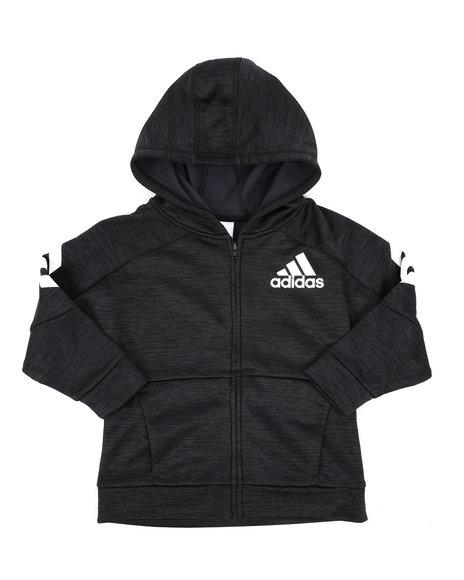 Adidas - Hooded Melange Jacket (4-7)