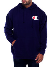 Big & Tall Faves - P/O Hoody W/ Left Chest (B&T)-2406154